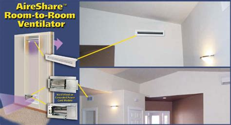room to room ventilation system studies crawl space ventilation room to room fan tjernlund products inc