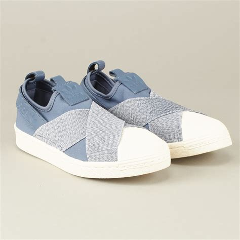 Adidas Superstar Slip On 4 adidas superstar slip on blue le fix sneaker store
