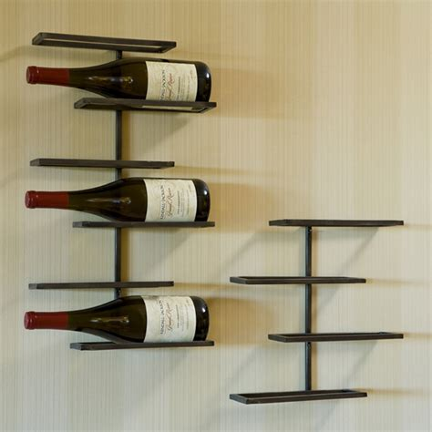 Metal Wall Wine Racks by Tribeca Wall Wine Racks 6227n