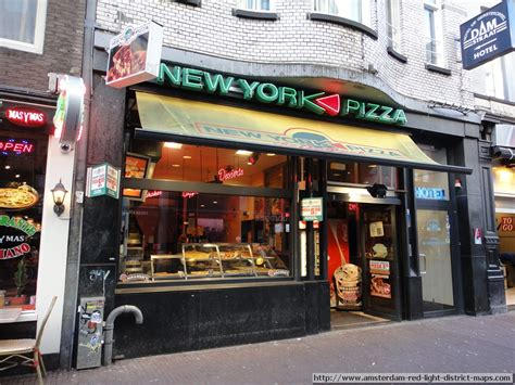 Light District Nyc by Amsterdam Restaurant New York Pizza Light District