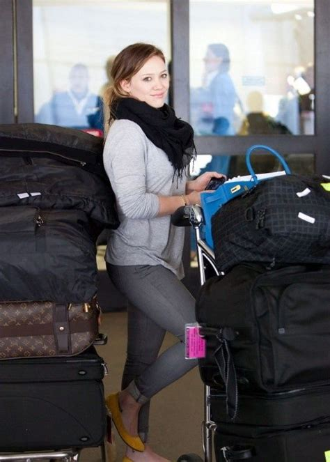 Get Look Hilary Duffs Burch Ballerina Flats by Hilary Duff Hilary Duff Airports And