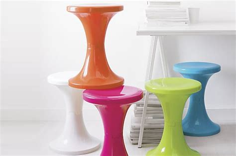 What Does It When Your Stool Is Bright Green by Architect Ls And Stools In Bold Colors At Home With Vallee