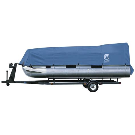 pontoon boat quick covers classic accessories 174 stellex pontoon boat cover 294420