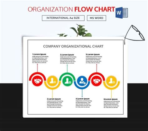 interactive organizational chart template 40 flow chart templates free sle exle format