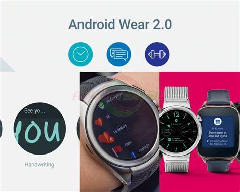 android wear confira as novidades do sistema android wear 2 0 ajudandroid