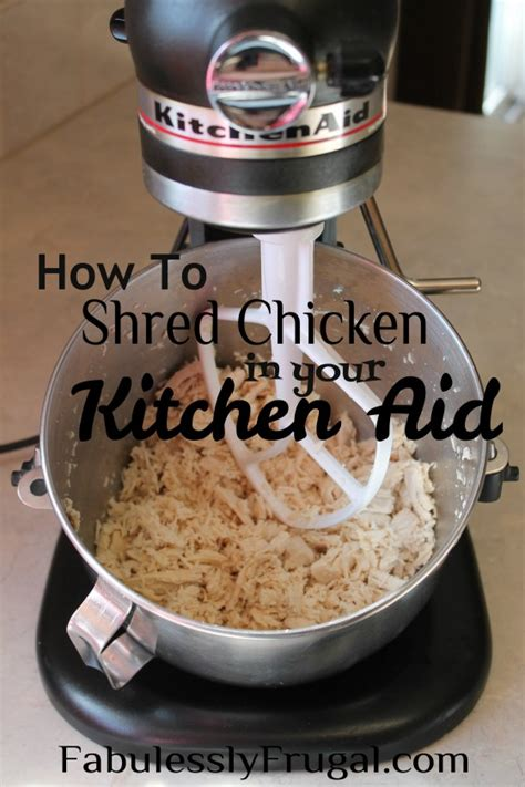 Kitchen Aid Mixer Recipes by How To Shred Chicken In Your Kitchen Aid Mixer Kitchen