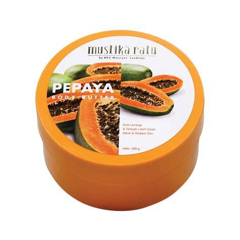 Harga Mustika Ratu Butter jual rekomendasi seller mustika ratu papaya butter