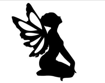 Bug Report Template cardstock fairy silhouette shapes