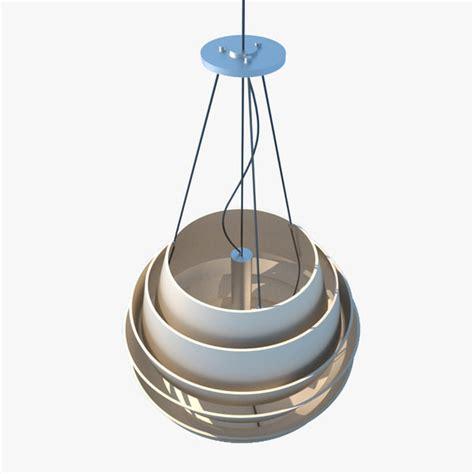3d Light Fixtures 3d Model Modern Ceiling Light Fixture