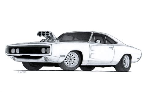 1970 dodge charger r t drawing by vertualissimo on deviantart