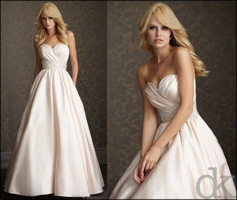 blush colored wedding dresses the pink or blush colored wedding gown trend debrakrein
