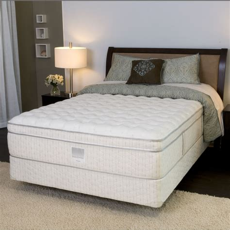 sears beds sears o pedic 950456 350 white linen firm et queen