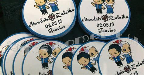 Set Zulaika gifts comel 4 u ordered by zulaika sticker
