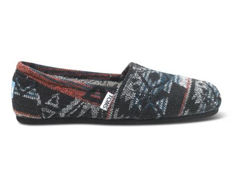 tribal pattern toms toms black jacquard women s classics tribal inspired