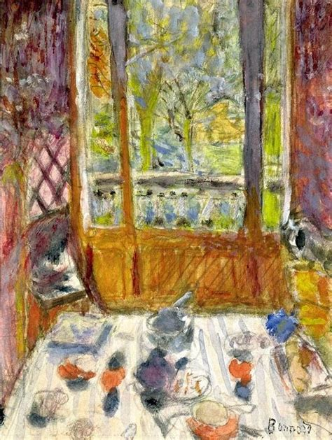 the dining room in the country bonnard bonnard the breakfast and breakfast on