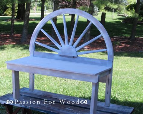 wagon wheel headboard diy headboard bench bedpost headboard creations