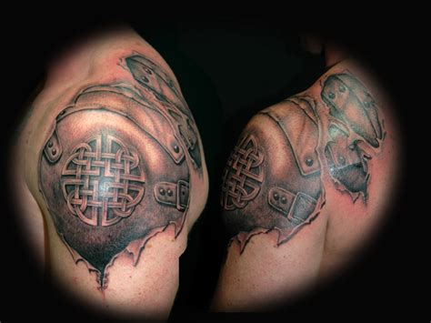 celtic armor tattoo armor tattoos