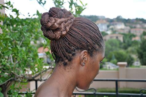 in a bun tendayi gives you a styling tutorial braid bun hair diaries hair