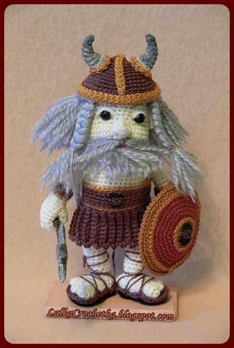 amigurumi viking pattern amigurumi vikings and dolls on pinterest