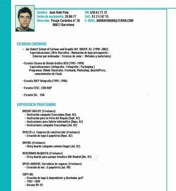 Modelo Curriculum Simple Para Trabajo Curriculum V 237 Tae Simple Modelo De Curriculum