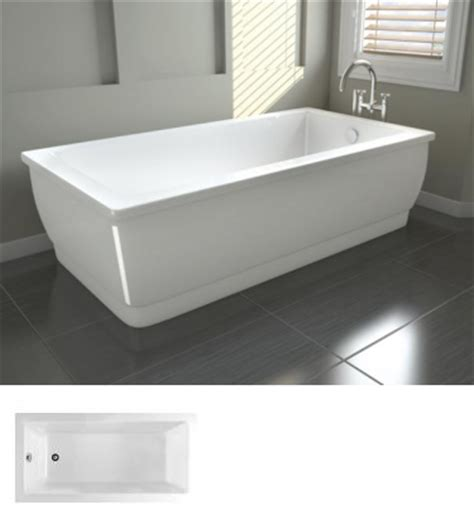 60 Bathtub Oceania Unity Freestanding Bathtubs