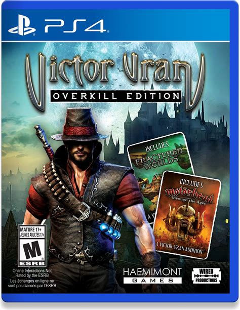 victor vran overkill edition release date switch pc