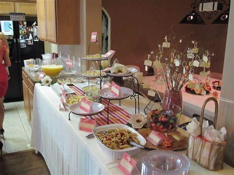 bridal shower table bridal shower food buffet buffet table ideas pinterest