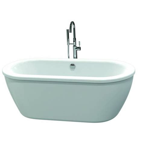 american standard bathtubs canada american standard 66 in x 32 in clean white oval skirted