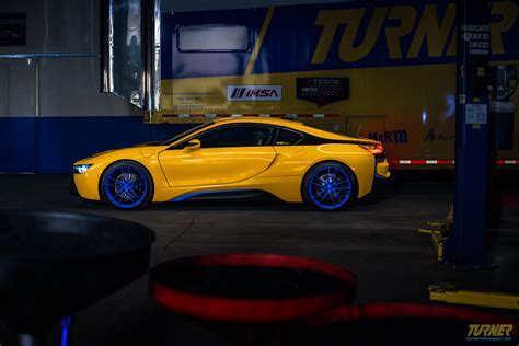 modified bmw i8 colorful modified bmw i8 by turner motorsport is up for