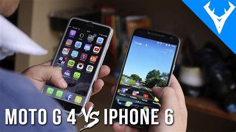 moto g 4 plus vs iphone 6 plus comparativo pode se surpreender