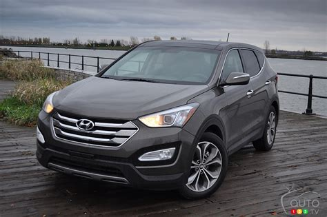 hyundai santa fe review 2013 list of car and truck pictures and auto123