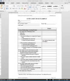 audit form template 38 brilliant template sles for audits thogati