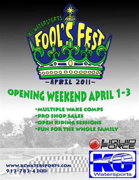3 New Opening On Weekend by Kc Fools Opening Weekend