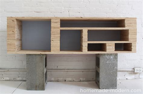 woodwork diy modern plywood furniture plans pdf