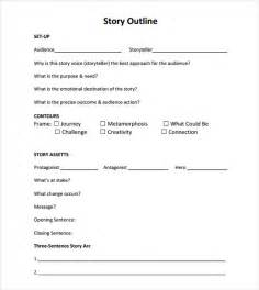 story outline template story outline sle 9 documents in pdf word
