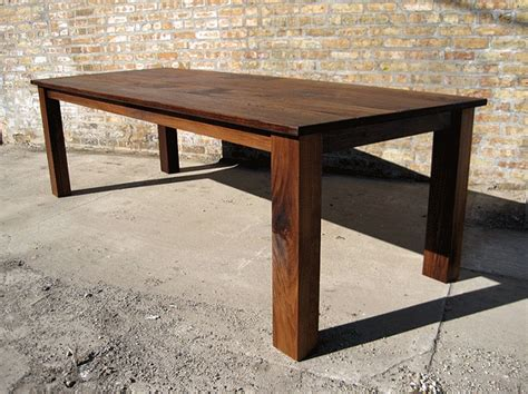 how to build a rustic dining table large and beautiful