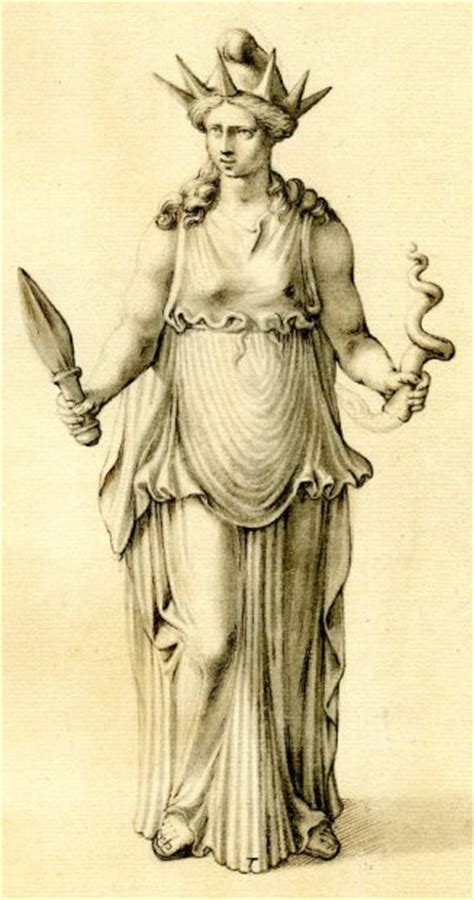 statue of liberty reopens the mystery behind the lady hecate queen of witches custodian of the crossroads