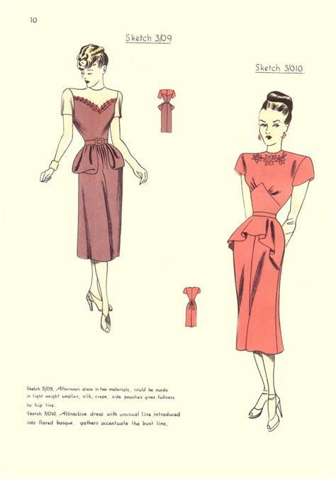 pattern cutting history patterns on pinterest fashion pictures 1940s and