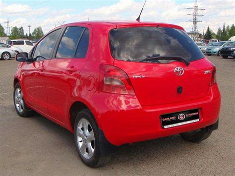 2008 Toyota For Sale 2008 Toyota Yaris For Sale 1300cc Gasoline Ff