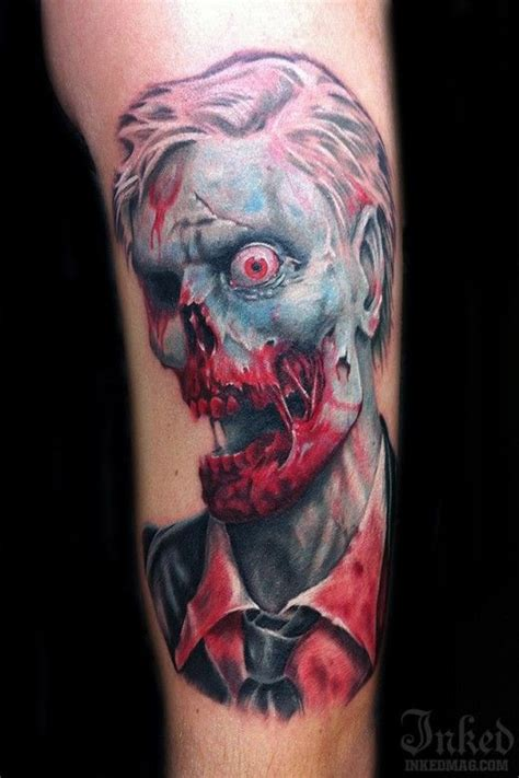 horror zombie tattoo on foot real photo pictures images 54 best horror tattoos images on pinterest horror