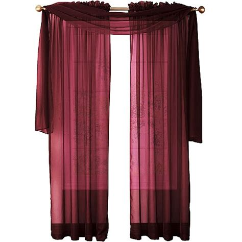 Sheer Burgundy Curtains So The Top Part Or These Is Not Desirable But Sheer Burgundy Curtains Don T Look That Bad