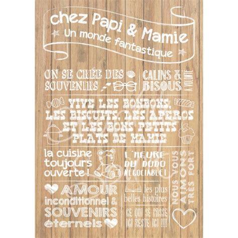 Tableau Chez But by Tableau Personnalis 233 Quot Chez Papy Mamie Quot