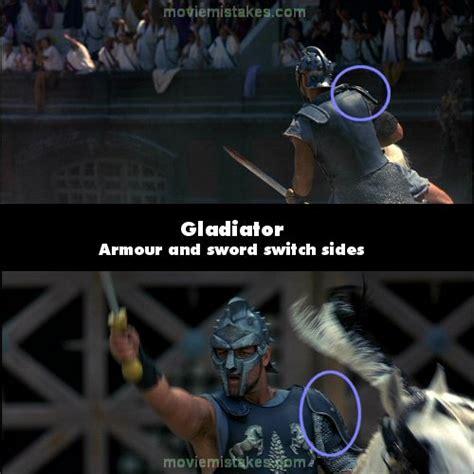 film gladiator mistakes gladiator 2000 movie mistake picture id 3405