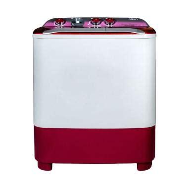 Mesin Cuci Aqua Qw 870xt jual aqua qw 780xt mesin cuci pink 7kg 2 tabung harga kualitas terjamin blibli