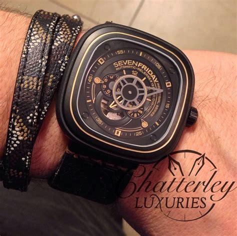 Sevenfriday M2 Black Gold sevenfriday p2 2 black and gold industrial revolution