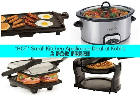 kohl s cardholders 5 small kitchen appliances 8 99 each 25 best ideas about presto griddle on pinterest kitchen