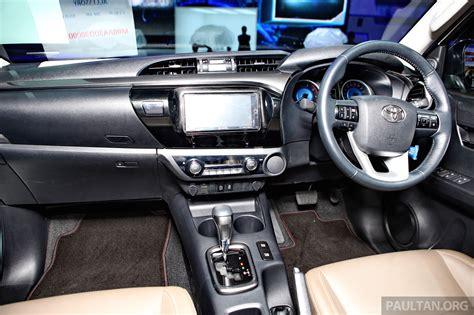 toyota th all new 2016 toyota hilux car interior design