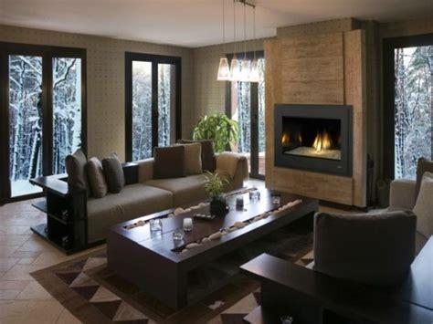 chimeneas en salones de 100 ideas con fotos de salones con chimeneas modernas