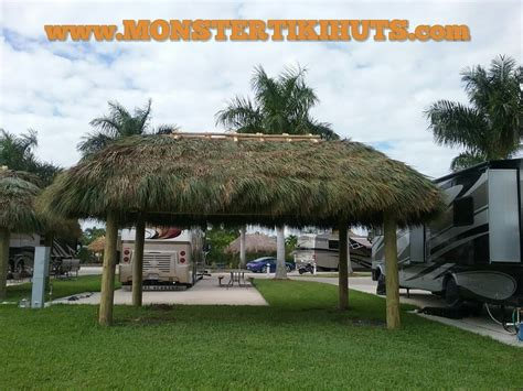 tiki hut naples fl backyard shade structures monster tiki huts