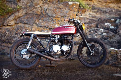 Motorrad Honda 550 Four by Honda Cb 550 Four 171 Sang Et Or 187 Sur Les Chapeaux De Roues